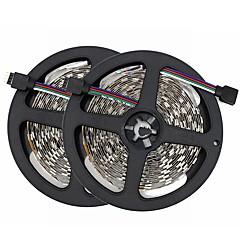 preiswerte LED Lichtstreifen-SENCART 10m Flexible LED-Leuchtstreifen 300/150 LEDs SMD5050 RGB Schneidbar / Dekorativ / Verbindbar 12 V 1 set