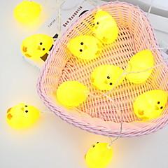 preiswerte LED Lichtstreifen-3M Leuchtgirlanden 20 LEDs Gelb Dekorativ AA-Batterien angetrieben 1 set