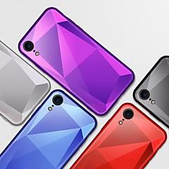 Недорогие Кейсы для iPhone-Кейс для Назначение Apple iPhone XR / iPhone XS Max Зеркальная поверхность Кейс на заднюю панель Однотонный Твердый Закаленное стекло для iPhone XS / iPhone XR / iPhone XS Max