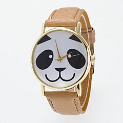 お買い得  レディース腕時計-女性用 リストウォッチ クォーツ 本革 ベルト素材 ブラック / 白 / ブルー カジュアルウォッチ 愛らしいです かわいい ハンズ レディース ファッション 多色 - 海軍 カーキ色 ライトグリーン