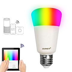 preiswerte LED-Birnen-JIAWEN 1pc 9 W 750 lm E26 / E27 Smart LED Glühlampen A19 31 LED-Perlen SMD 3528 Smart / APP-Steuerung / Zeitmessung RGBW 100-240 V