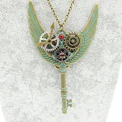 preiswerte Halsketten-Damen Klassisch Statement Ketten - Ausrüstung Steampunk Cool Bronze 60+5 cm Modische Halsketten Schmuck 1pc Für Nacht Besondere Anlässe, Professionell