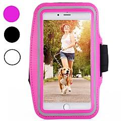 Недорогие Универсальные чехлы и сумочки-Кейс для Назначение Apple iPhone XR / iPhone XS Max Спортивныеповязки / Защита от удара / Защита от пыли С ремешком на руку Однотонный Мягкий Углеродное волокно для iPhone XS / iPhone XR / iPhone XS