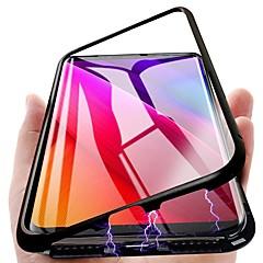 お買い得  -ケース 用途 Samsung Galaxy S9 Plus / S9 磁石バックル バックカバー ソリッド ハード メタル のために S9 / S9 Plus / S8 Plus