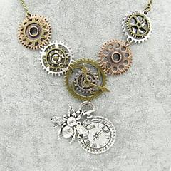 preiswerte Halsketten-Damen Skulptur Statement Ketten - Biene, Ausrüstung Erklärung, Retro, Steampunk Cool Bronze 56+5 cm Modische Halsketten Schmuck 1pc Für Nacht Besondere Anlässe, Maskerade