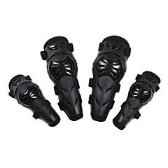 abordables Ropa de Protección-Equipo de protección de la motocicleta para Coderas / Rodillera De Hombres PE / Resina de EVA Plegable / Protección / Anti desgaste