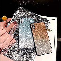 abordables Coques d'iPhone-Coque Pour Apple iPhone X / iPhone XS Max Brillant Coque Brillant Dur PC pour iPhone XS / iPhone XR / iPhone XS Max