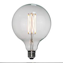preiswerte LED-Birnen-6pcs 6 W 120 lm E26 / E27 LED Glühlampen G125 6 LED-Perlen Hochleistungs - LED Warmes Weiß 110-130 V / 200-240 V