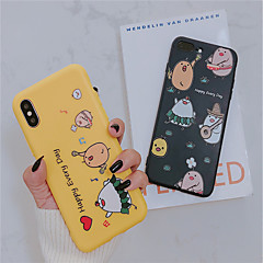 abordables Fundas para iPhone 6s Plus-Funda Para Apple iPhone XR / iPhone XS Max Congelada / Diseños Funda Trasera Caricatura Suave TPU para iPhone XS / iPhone XR / iPhone XS Max