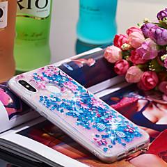 Недорогие Чехлы и кейсы для Xiaomi-Кейс для Назначение Xiaomi Mi 8 Защита от удара / Сияние и блеск Кейс на заднюю панель Сияние и блеск / Цветы Мягкий ТПУ для Xiaomi Mi 8