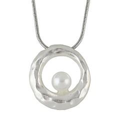 preiswerte Halsketten-Damen Anhängerketten - Perle Einfach, Modisch lieblich Gold, Silber 54.5 cm Modische Halsketten Schmuck 1pc Für Party / Abend, Schultaschen