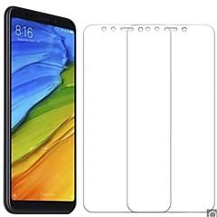 Недорогие Защитные плёнки для экранов Xiaomi-Защитная плёнка для экрана для XIAOMI Xiaomi Redmi 5 Plus Закаленное стекло 2 штs Защитная пленка для экрана HD / Уровень защиты 9H / 2.5D закругленные углы