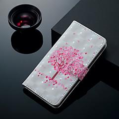 Недорогие Кейсы для iPhone 7 Plus-Кейс для Назначение Apple iPhone XS / iPhone XS Max Бумажник для карт / со стендом / Флип Чехол дерево Твердый Кожа PU для iPhone XS / iPhone XR / iPhone XS Max