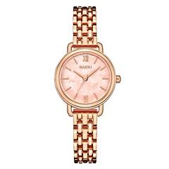 preiswerte Damenuhren-Damen Armbanduhr Japanisch Quartz Silber / Rotgold 30 m Niedlich Kreativ Armbanduhren für den Alltag Analog Freizeit Modisch - Hellblau Rose Grün Ein Jahr Batterielebensdauer