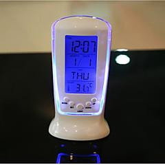 preiswerte Uhren-Digital LED Schreibtisch Wecker Thermometer Timer Kalender Tisch Dekor Lumineszenz Musik Uhr