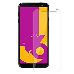 halpa Uudet tuotteet-Näytönsuojat varten Samsung Galaxy J6 Karkaistu lasi 1 kpl Näytönsuoja 9H kovuus / Naarmunkestävä