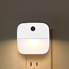 お買い得  LED アイデアライト-1個 LEDナイトライト 温白色 充電式 <=36 V