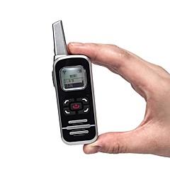 お買い得  トランシーバー-m6p双方向ラジオ128チャンネル400-520 mhzでlcdディスプレイハムfmラジオミニトランシーバー用レストラン/ホテル/学校