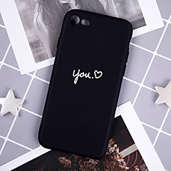 cheap iPhone Cases-Case For Apple iPhone XR / iPhone XS Max Pattern Back Cover Word / Phrase Soft TPU for iPhone XS / iPhone XR / iPhone XS Max