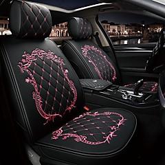 preiswerte KFZ Innenausstattung-ODEER Autositzkissen Sitzkissen Schwarz / Rosa / Black Gold / Schwarz / Weiß PU-Leder Normal Für Universal Alle Jahre Alle Modelle