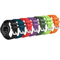ieftine -brățară de ceas sport din silicon moale pentru sport ceas 22mm curea de schimb compatibilă cu ceas de galaxie samsung (46mm) s3 frontal / clasic ceas inteligent