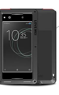 cheap -Case For Sony Xperia XA1 Ultra / Xperia XA1 Water / Dirt / Shock Proof Full Body Cases Solid Colored Hard Metal for Sony Xperia XA1 Ultra / Sony Xperia XA1