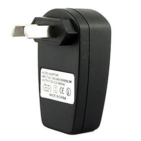 Χαμηλού Κόστους Αξεσουάρ Η/Υ & Tablet-au βύσμα usb ac dc τροφοδοτικό τοίχου φορτιστής mp3 mp4 dv φορτιστή (μαύρο)