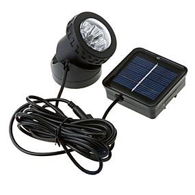 Недорогие LED прожекторы-1шт Ночные светильники Работает от солнечной энергии Водонепроницаемый