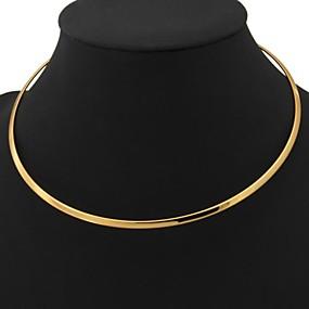 ieftine Bijuterii&Ceasuri-Pentru femei Torțe Placat cu platină Placat Auriu femei Modă Coliere Bijuterii Pentru Nuntă Petrecere Zilnic Casual