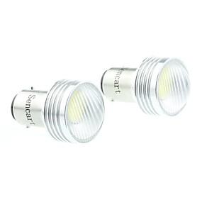 voordelige Auto-achterverlichting-BA15S (1156) Automatisch Lampen 3W COB 220-260lm LED Richtingaanwijzerlicht For Universeel