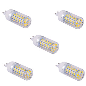 abordables Luces LED de Doble Pin-YWXLIGHT® 5pcs 10 W Bombillas LED de Mazorca 1500 lm G9 T 60 Cuentas LED SMD 5730 Blanco Cálido Blanco Fresco 220 V 110 V / 5 piezas