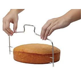 abordables Cocina y Comedor-Herramientas para hornear El plastico Pastel Moldes para pasteles 1pc