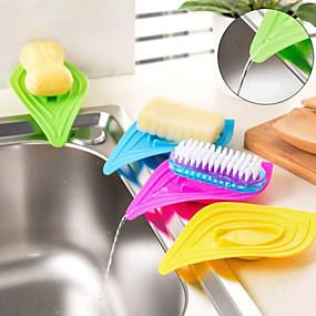cheap Bathroom Gadgets-Soap Dishes Toilet / Bathtub / Shower / Medicine Cabinets Plastic Multi-function / Eco-Friendly / Cartoon / Gift