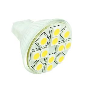 Недорогие Двухконтактные LED лампы-SENCART 1.5 W Точечное LED освещение 3500/6000/6500 lm GU4(MR11) MR11 12 Светодиодные бусины SMD 5050 Диммируемая Декоративная Тёплый белый Холодный белый Естественный белый 12 V 24 V / RoHs