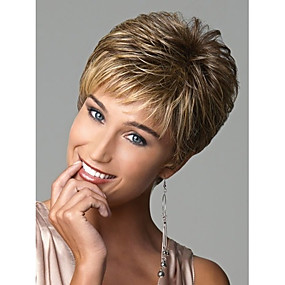 cheap Makeup & Nail Care-european lady women short syntheic wave wigs extensions beautiful wig