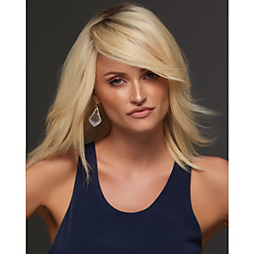 cheap Makeup & Nail Care-new europe and the united states gold long natural straight hair synthetic wig