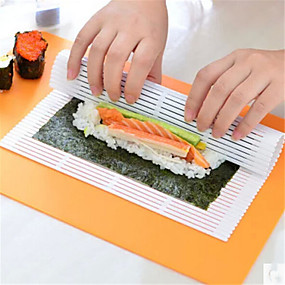 ieftine Ustensile Bucătărie & Gadget-uri-Teak Ustensile de Sushi Bucătărie Gadget creativ Instrumente pentru ustensile de bucătărie pentru Rice
