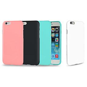 abordables Coques d'iPhone-cas pour apple iphone xr xs xs max couverture arrière solide tpu doux coloré pour iphone x 8 8 plus 7 7plus 6s 6s plus se 5 5s