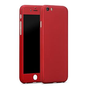 olcso iPhone tokok-Case Kompatibilitás Apple iPhone 6 Plus / iPhone 6 Vízálló Fekete tok Egyszínű Kemény PC mert iPhone 6s Plus / iPhone 6s / iPhone 6 Plus