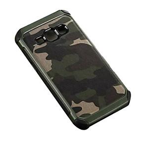voordelige Galaxy J5 Hoesjes / covers-hoesje Voor Samsung Galaxy J7 / J5 / J2 Schokbestendig Achterkant Camouflage Kleur PC