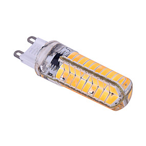 abordables Luces LED de Doble Pin-ywxlight® e14 g9 g4 ba15d 5730smd 7w 80led 500-600lm led bi-pin luz blanco cálido blanco blanco regulable 360 led maíz luces ac 110-130v