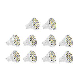 ieftine LED-uri & Iluminat-10pcs 1.5 W 450-550 lm GU10 Spoturi LED 18 LED-uri de margele SMD 5630 Alb Cald Alb Rece 220-240 V / 10 bc