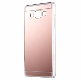 voordelige Galaxy A7(2016) Hoesjes / covers-hoesje Voor Samsung Galaxy A7(2016) / A5(2016) / A3(2016) Spiegel Achterkant Effen Acryl