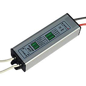 Недорогие Светодиодные драйверы-jiawen 20w привело блок питания постоянного тока 12-24v привело постоянного тока привело адаптер адаптер трансформатора (выход постоянного тока 30-36v)
