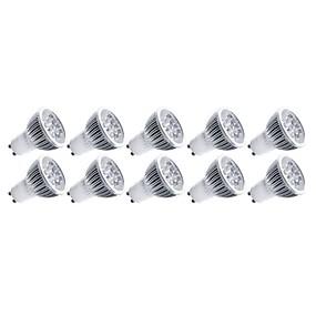 Недорогие Светодиоды и лампы-4 W Точечное LED освещение 400 lm E14 GU10 GU5.3(MR16) MR16 5 Светодиодные бусины Высокомощный LED Декоративная Тёплый белый Холодный белый 85-265 V / 10 шт. / RoHs / CCC