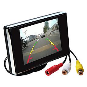 billige Til Bilen & Motorcyklen-3,5 tommer TFT-LCD bil ede skærm hd med stativ omvendt backup kamera af høj kvalitet
