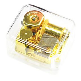 billige Pedagogiske leker-abs gull kreative romantisk musikk boksen for gave