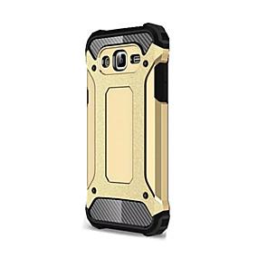 voordelige Galaxy J7 Hoesjes / covers-hoesje Voor Samsung Galaxy J7 (2016) / J7 / J5 Schokbestendig Achterkant Schild Zacht Siliconen