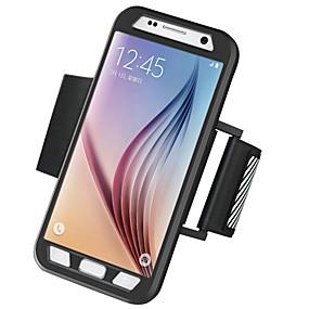halpa Galaxy S -sarjan kotelot / kuoret-Etui Käyttötarkoitus Samsung Galaxy Samsung Galaxy S7 Edge Käsivarsinauha Käsivarsihihna Yhtenäinen Kova PC varten S7 edge / S7