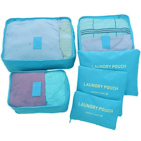 0055037f86f cheap Travel Accessories-6 sets Travel Bag / Travel Organizer / Packing  Organizer Large Capacity